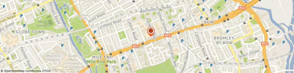 Route/map/directions to GO Mammoth, E3 2AE London, 25-33 Bow Rd