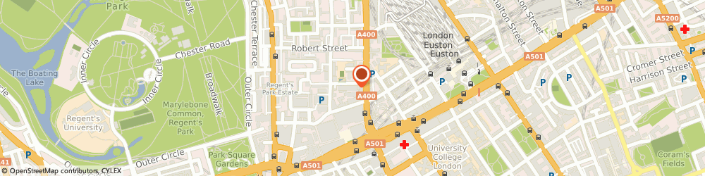 Route/map/directions to Meldale Properties Ltd, NW1 3ER London, 11-15 William Road