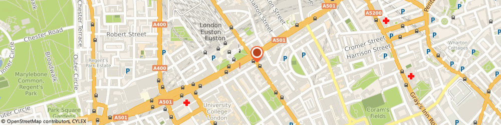 Route/map/directions to Demstone Chambers Ltd, WC1H 0AF London, 16 Upper Woburn Place