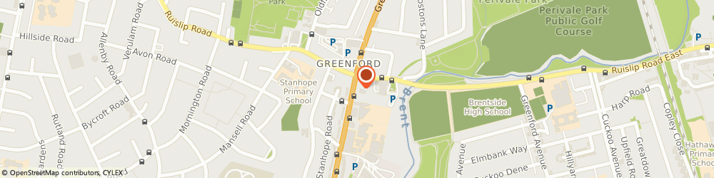 Route/map/directions to ADMIRAL BARS (SOUTHEND) LIMITED, UB6 9AH Greenford, Allied Sainif House, 412 Greenford Road