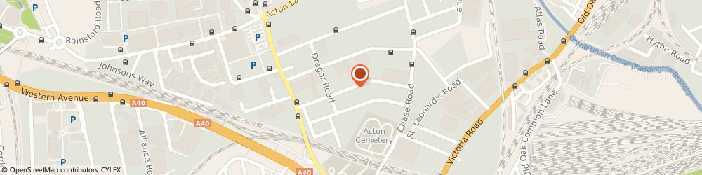 Route/map/directions to Soundstage Studios, NW10 6LE London, 30 Gorst Rd
