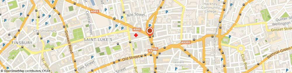 Route/map/directions to Barclays Bank PLC, EC1V 2NL London, Gilray House 146-150 City Road