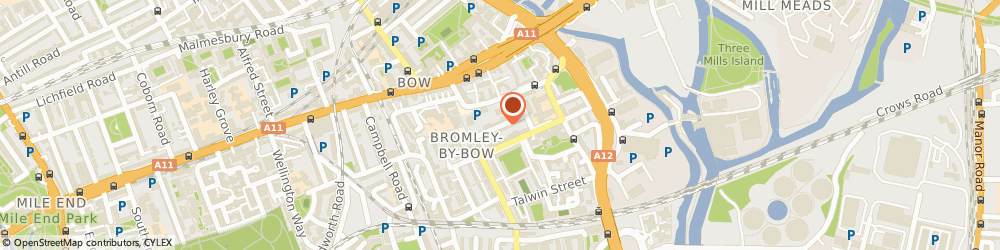 Route/map/directions to COLOR CLIPPING LTD, E3 3HF London, 24 Arrow Road