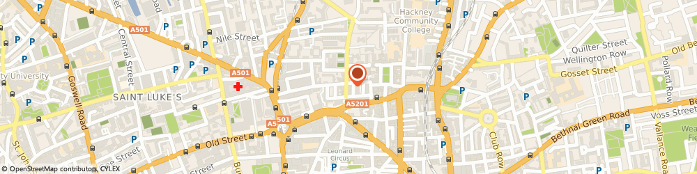 Route/map/directions to Cyclelab, N1 6EY London, 16B-18A Pitfield St