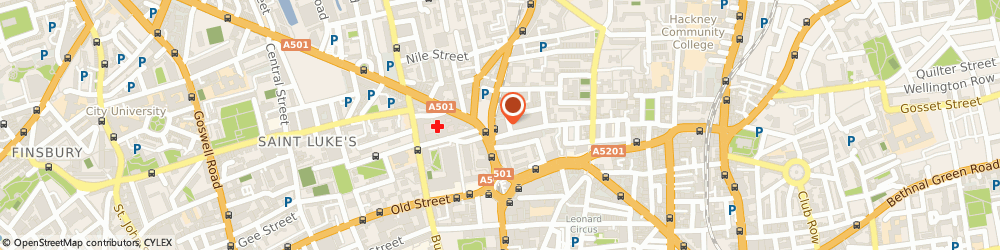 Route/map/directions to Catalysis Communications Ltd, N1 6AD London, Linen Court, 10 East Road