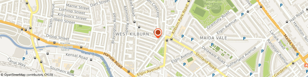 Route/map/directions to Brunswick Chauffeur Cars Ltd, W9 3DY London, 4H, Shirland Mews