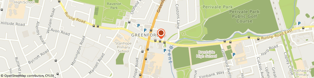Route/map/directions to GDC Paints Greenford, UB6 9BH Greenford, 312-316 Ruislip Road East