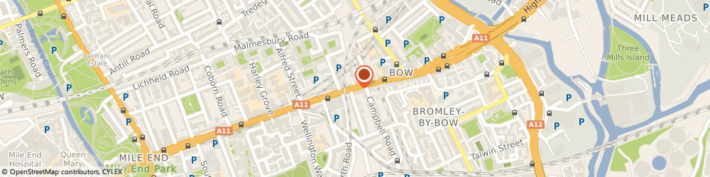 Route/map/directions to London Financial Growth Ltd., E3 3AR London, Insley House, Bow Road
