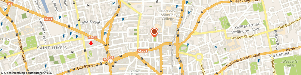 Route/map/directions to Richard Lynam Partnership, N1 6NU London, 5 HOXTON SQUARE