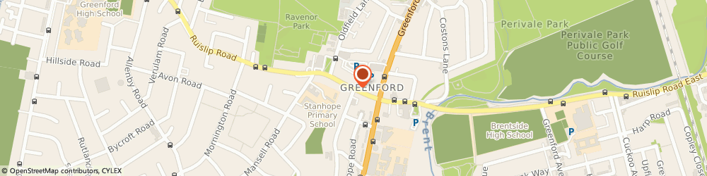 Route/map/directions to Hurricane Snooker Room, UB6 9PN Greenford, 31 THE BROADWAY