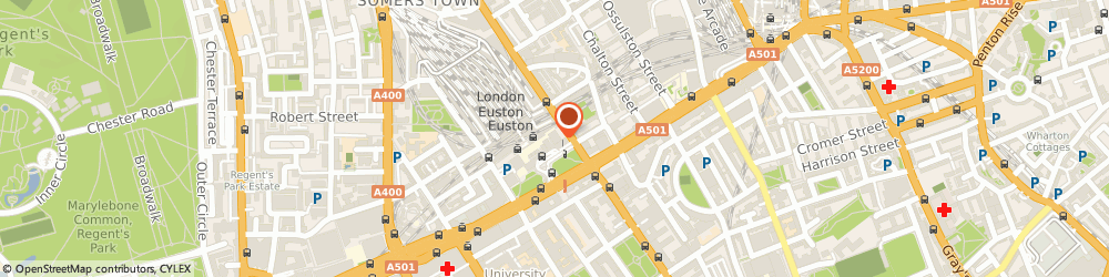 Route/map/directions to Excess Baggage, NW1 2DU London, 16-18, Euston Station