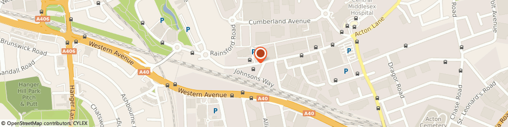 Route/map/directions to Daltral International Ltd, NW10 7QP London, UNIT 24/SOVEREIGN PARK, CORONATION ROAD