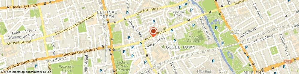 Route/map/directions to Blush Clothing, E2 0QN London, 79 Roman Rd