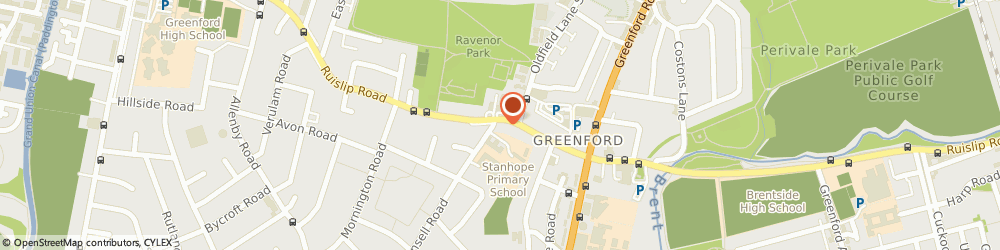 Route/map/directions to Next EALING - THE BROADWAY, W5 5JN London, 67 The Broadway
