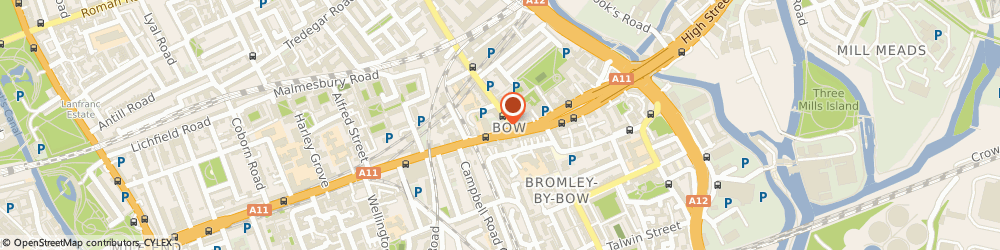 Route/map/directions to The t-Shirt Printers.com, E3 2SE London, 153-159 Bow Rd, Bow Business Centre