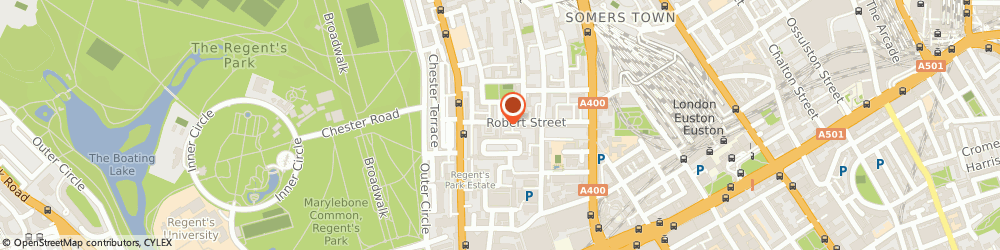 Route/map/directions to Arrow Dental Practice, NW1 3QT London, 89a Robert St