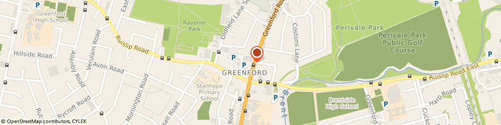 Route/map/directions to Greenford Butchers, UB68QY Greenford, 195 Greenford Road