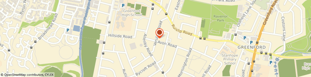 Route/map/directions to Raja Driving School, UB6 9RJ Greenford, 70 VERULAM ROAD