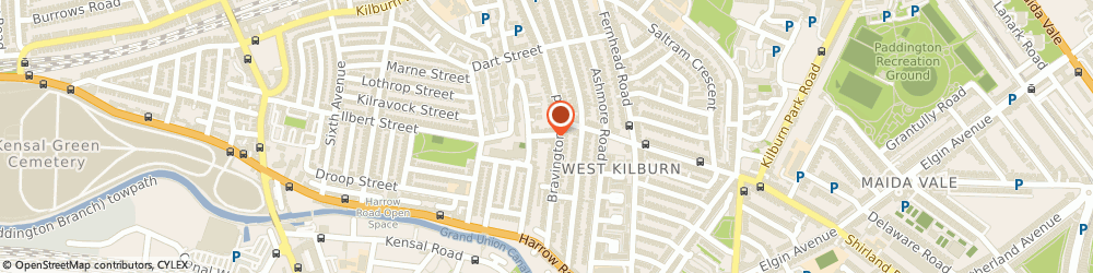Route/map/directions to Kenton Trimmings, W10 4LA London, 5 Mozart St