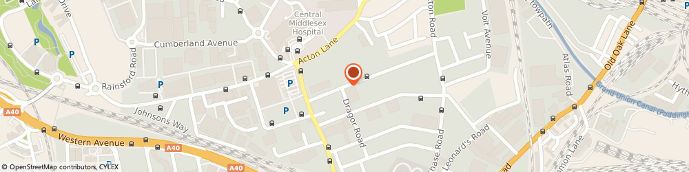 Route/map/directions to Accident Repair Centre, NW10 6HJ London, 50 Minerva Rd, Park Royal