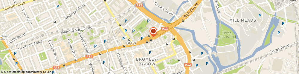 Route/map/directions to Kovers, E3 2SJ London, 219 Bow Rd