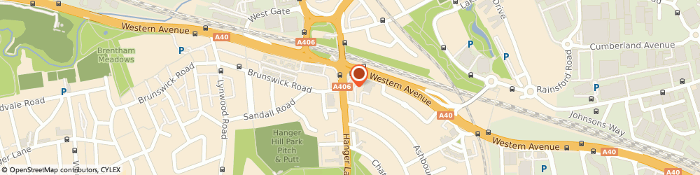 Route/map/directions to Safeclean, W5 3QS London, 11 ASHBOURNE PARADE, HANGER LANE