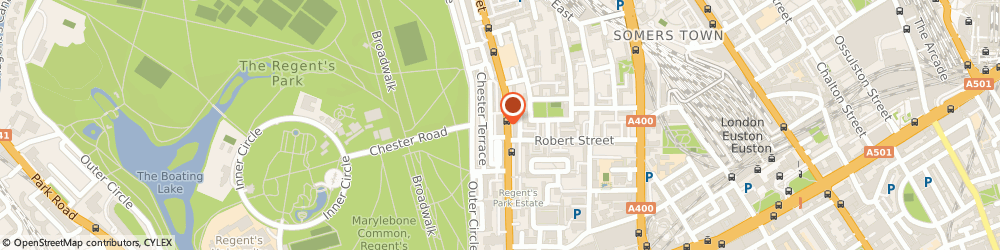 Route/map/directions to Markson Pianos Ltd, NW1 4BU London, 7-8 Albany St