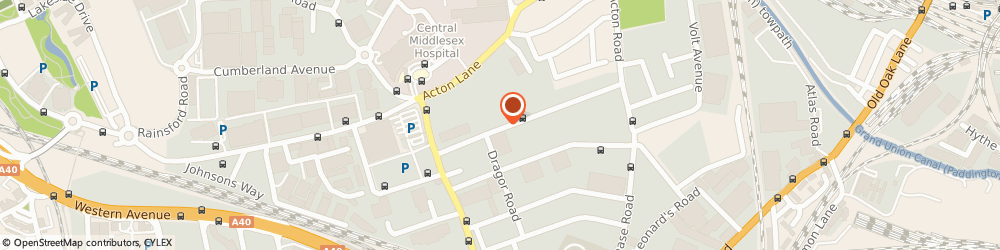 Route/map/directions to d Cutler (International) Ltd, NW10 6HJ London, 44 Minerva Road