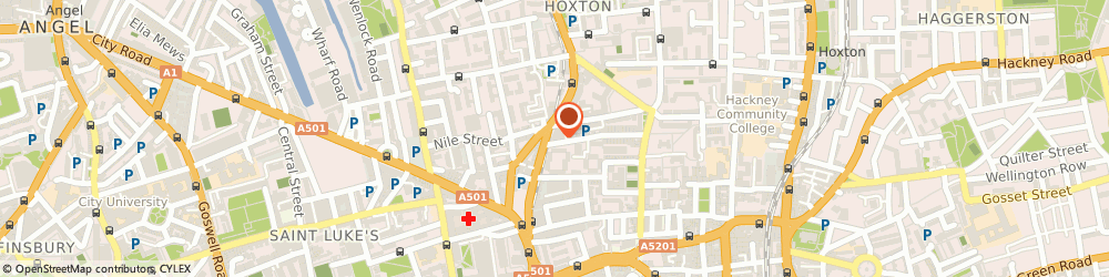 Route/map/directions to Drake's, N1 6ED London, 3 Haberdasher St
