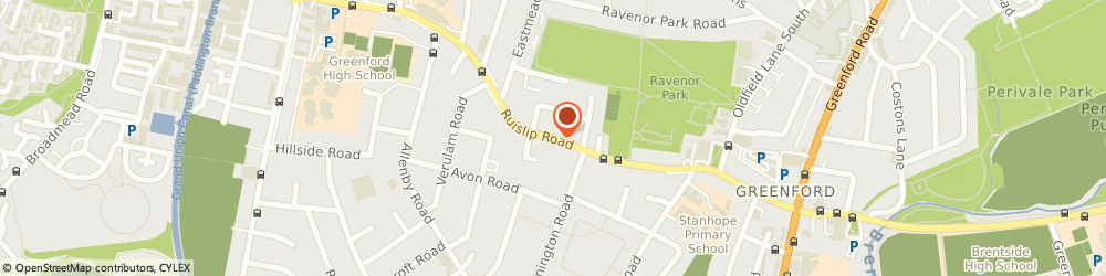 Route/map/directions to Locksmith Greenford, UB6 9BG Greenford, Ruislip Rd
