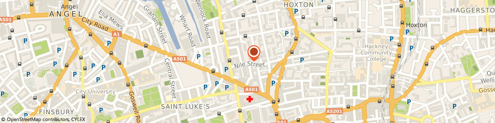Route/map/directions to Damp Proofing London Ltd, N1 7SR London, International House, 64 Nile Street