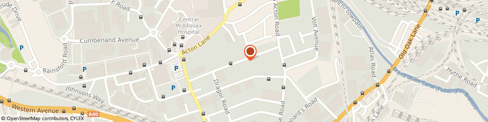 Route/map/directions to Clarition Designs Limited, NW10 6HJ London, 25 Minerva Road