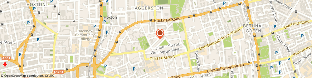 Route/map/directions to The Powderpuff Girls, E2 7RG London, 136 Columbia Road