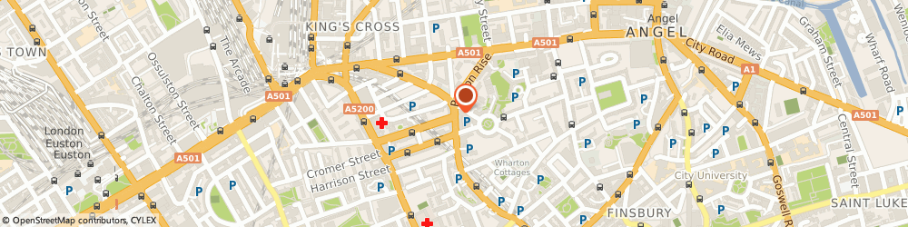 Route/map/directions to Proof Read My File, WC1X 9BN London, 145 King's Cross Rd