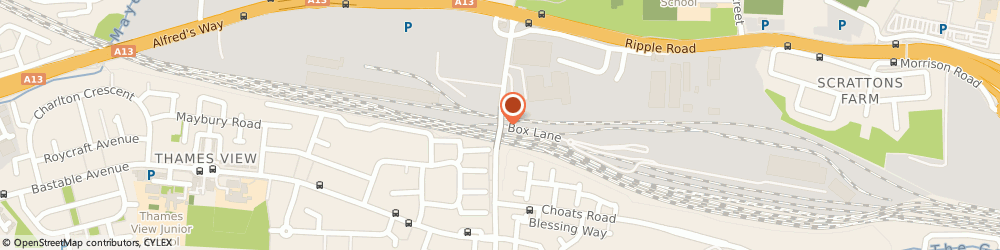Route/map/directions to Chris Eames International, IG11 0SQ Barking, Renwick Rd