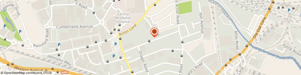 Route/map/directions to Purves & Purves, NW10 6HJ London, 58-60 MINERVA ROAD, 4 MINERVA BUSINESS CENTRE