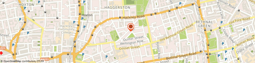 Route/map/directions to UPS Solutions Logistics, E2 7RG London, 154 Columbia Road