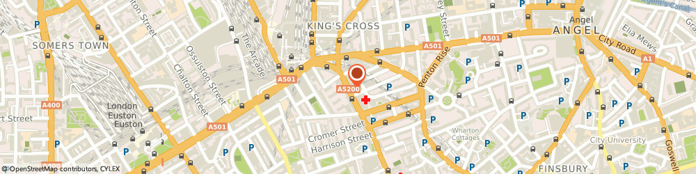 Route/map/directions to Westend Dogs & Pur-Fect Cats, WC1X 8EB London, 290 GRAY'S INN ROAD