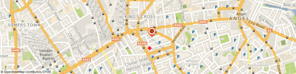 Route/map/directions to City Mortgages, WC1X 9HL London, DENTON HO 40-44 WICKLOW ST