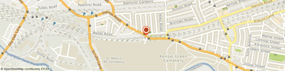 Route/map/directions to Travis Perkins, NW10 5NY London, 763 Harrow Road