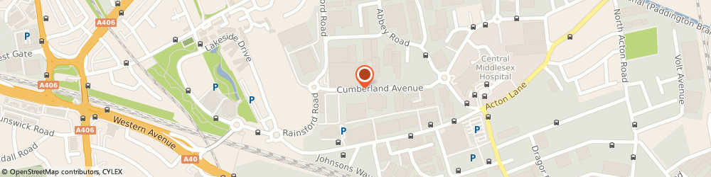 Route/map/directions to Designer Flowers, NW10 7RT London, Unit 20 Cumberland Business Park, 17 Cumberland Avenue
