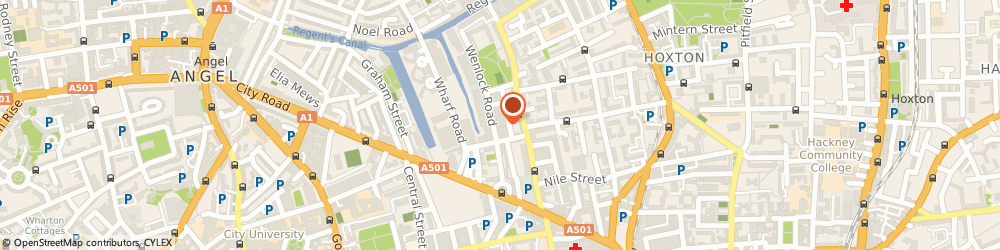 Route/map/directions to INEUK LTD, N1 7GU London, N1
