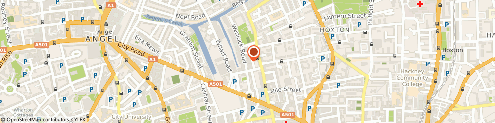 Route/map/directions to Stand & Deliver Distribution S d d Ltd, N1 7GU London, 20 Wenlock Rd