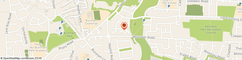 Route/map/directions to Regency Accountants Limited, SL2 2NT Slough, 1 Wordsworth Rd, Regency House