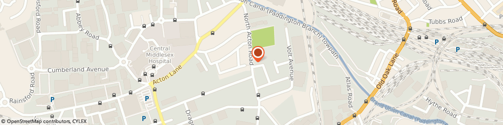 Route/map/directions to Lennox Auto Limited, NW10 6PJ London, 63 North Acton Road
