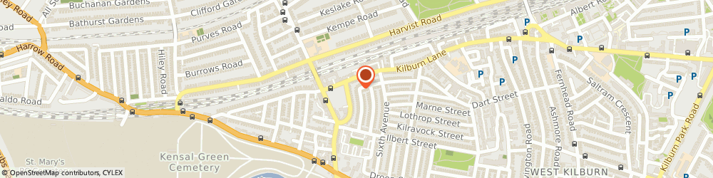 Route/map/directions to Orwell + Austen Limited, W10 4ED London, 65 Oliphant St.