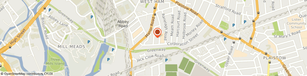 Route/map/directions to Bejan Painting & Decorating, E15 3DH London, 80 EVE ROAD