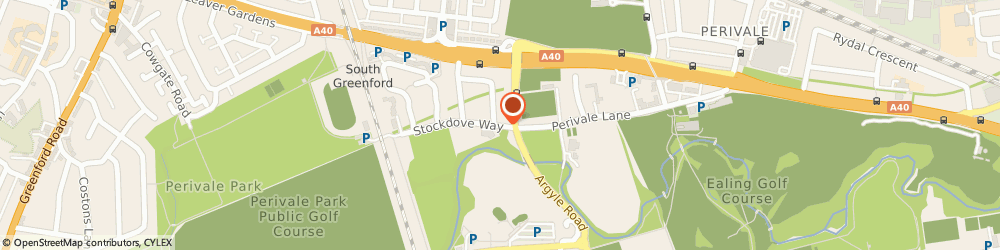 Route/map/directions to Ealing Mencap, UB6 8TJ Perivale, Stockdove Way