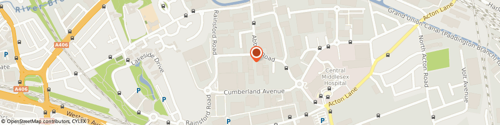 Route/map/directions to Contrado, NW10 7SU London, Unit 7, Space Business Park