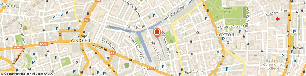 Route/map/directions to The North American Guitar, N1 7UX London, Unit 9, Waterside, 44-48 Wharf Road